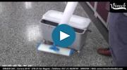 Embedded thumbnail for Trapeador para microfibra en aluminio con dispensador para líquidos de 500 ml